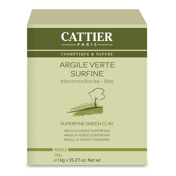 ARGILE VERTE FINE 1KG CATTIER
