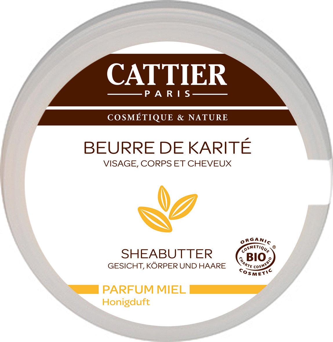 BEURRE DE KARITÉ Miel