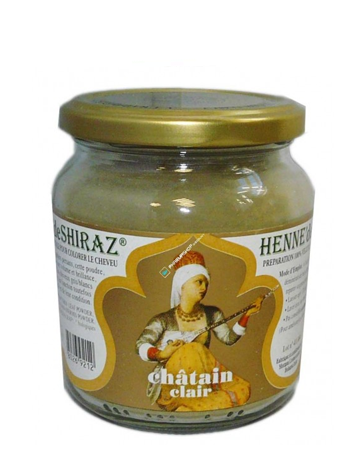 HENNE DE SHIRAZ CHATAIN CLAIR