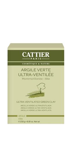 ARGILE VERTE ULTRA VENTILÉE 250 G cattier