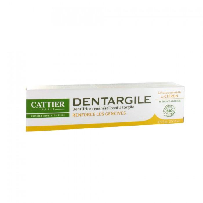 DENTARGILE CITRON   Renforce les gencives   0% Sulfate – 0% Fluor