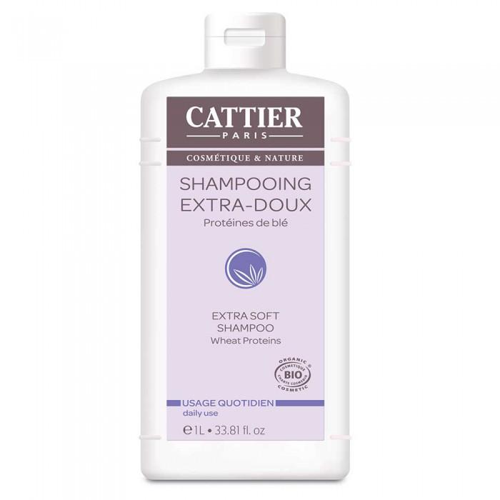SHAMPOOING EXTRA-DOUX CATTIER  1Litre